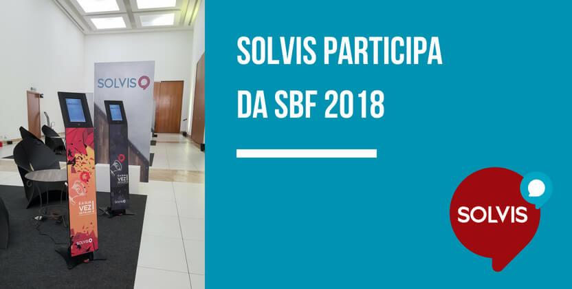 Solvis marca presença na SBF 2018