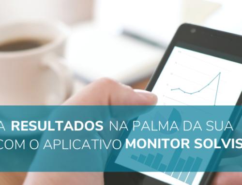 Tenha resultados na palma da sua mão com o aplicativo Monitor Solvis
